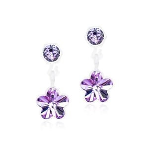 Pendant Flower Violet 4/6mm