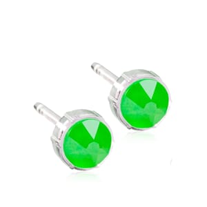 Electric Green Medical Plastic 6mm