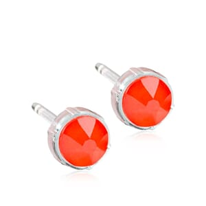 Electric Orange Medical Plastic 6mm