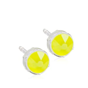 Electric Yellow Medical Plastic 6mm